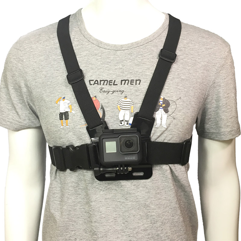Adjustable Chest Body Strap Mount Harness Belt for Gopro Hero 2//3//3+//4//5//6 Black