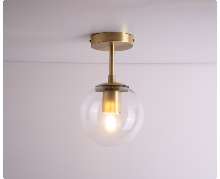 HTB1K4KzaIrrK1RjSspaq6AREXXa5 Vintage Ceiling Lights | Antique Brass Ceiling Lights | Nordic Glass Ball LED Ceiling Lights Balcony Porch Aisle Bedroom Copper Retro Vintage Ceiling Lamps Plafonnier Lighting 001