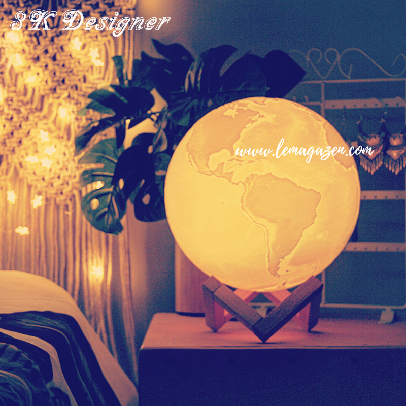 3D Light Print Earth Lamp Jupiter Lamp Colorful Moon Lamp Rechargeable Change Touch Usb Led Night Light Home Decor Creative Gift3D Light Print Earth Lamp Jupiter Lamp Colorful Moon Lamp Rechargeable Change Touch Usb Led Night Light Home Decor Creative Gift