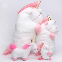 15cm/18cm fluffy unicorn plush toy, unicorn plush pendant, unicorn stuffed doll, plush horse for girlfriend