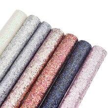 Блестящая синтетическая кожа полуфабрикатная ткань для рукоделия вакуумные пакеты для одежды декор с бантиком материалы