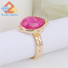 (1piece/lot)Drop - Shaped Resin Alloy Ring