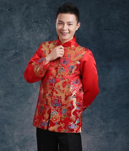 Kineska tradicionalna odjeća vjenčanje rude vezenje nevjesta - Nacionalna odjeća - Foto 4