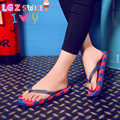 2016 Hot Summer Flip Flops shoes women,US Fashion Soft Leisure Sandals, Beach Slipper,indoor & outdoor Sandals flip-flops