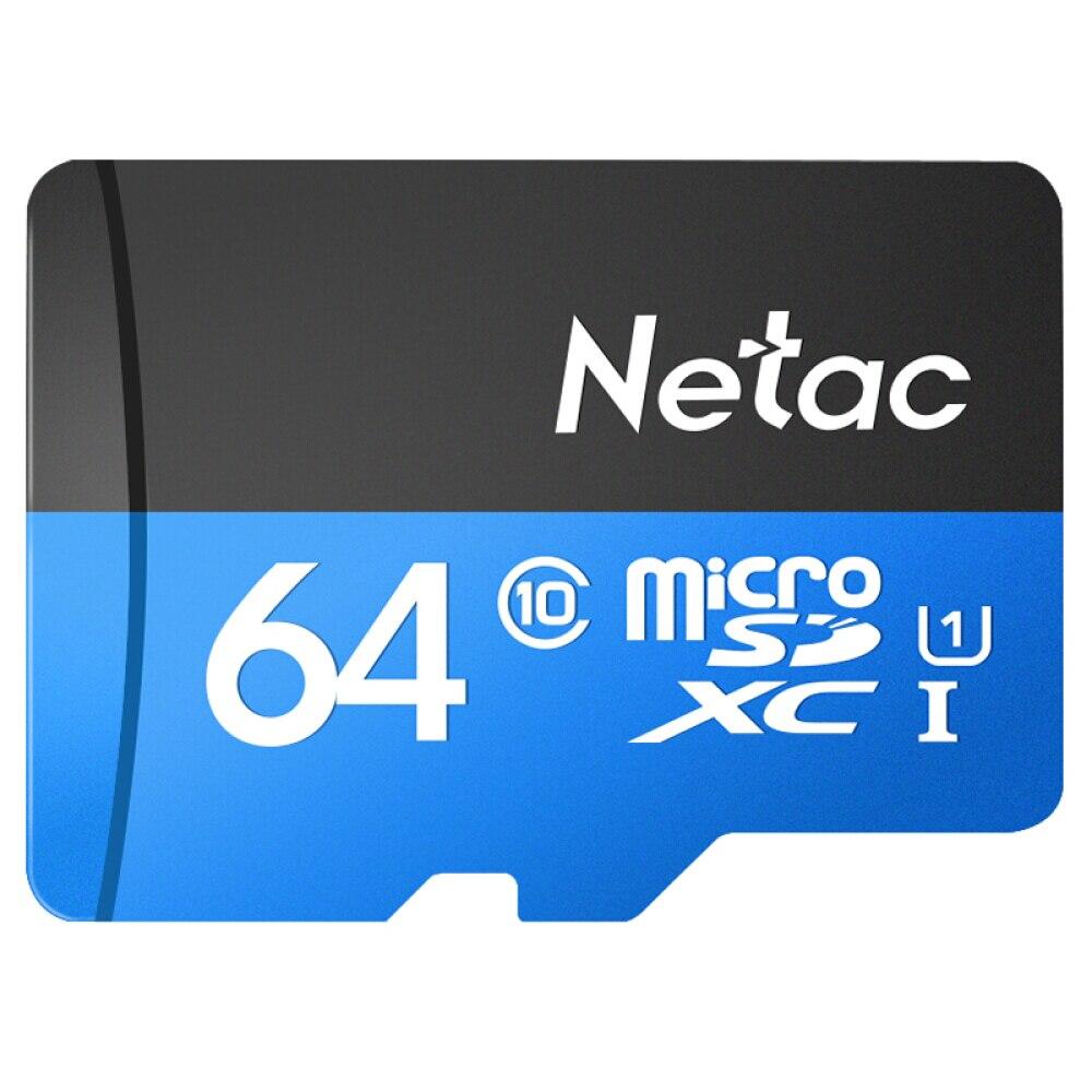 Netac Memory Card Class 10 16GB 32GB 64GB 128GB Micro TF Card Flash Micro SD Card Data Storage High Speed 98MB/S for Samrtphone