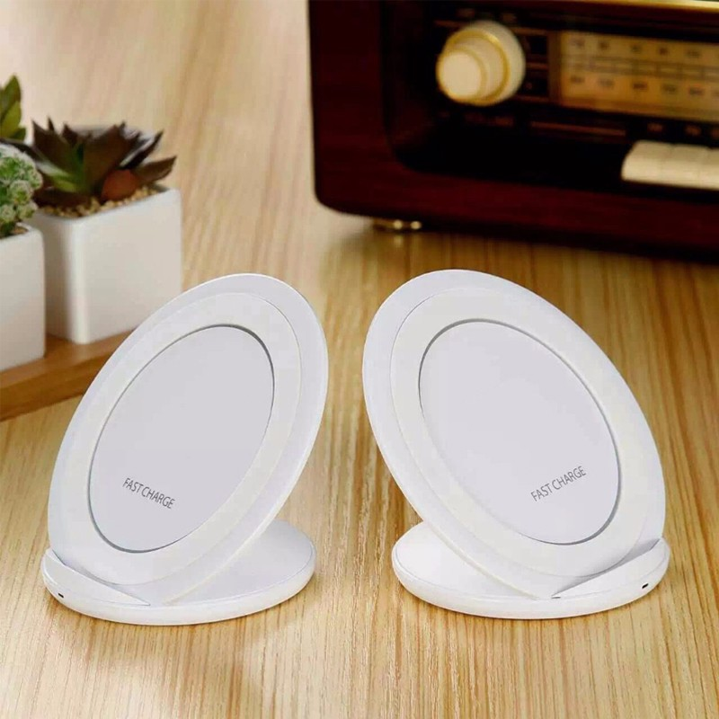 Original eAmpang 10W Qi Fast Wireless Charger for Samsung Galaxy S7 edge S8 S9 Plus Note 9 8 5 Apple iPhone X XS Max XR 8 Plus 9