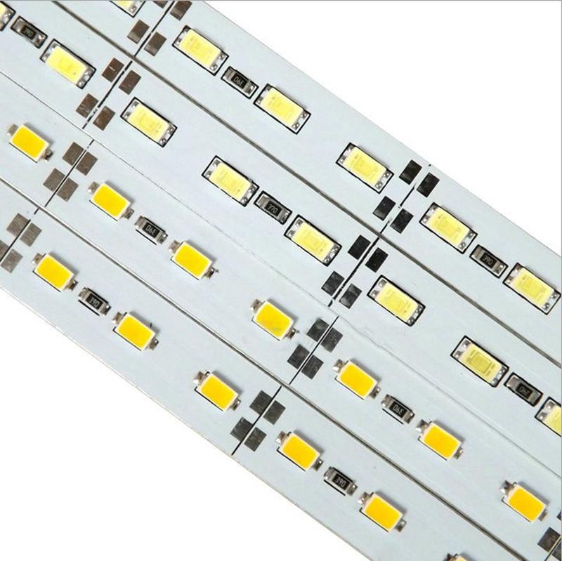 wholesale led cabinet light high brightness 5630 smd led bar lighting 72leds/meter for Counter lighting commercial decoration