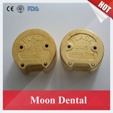 Popular 1 Piece New Style Upper/Lower Brass Denture Flask Tooth Boiled Box for Dental Lab Equipment Dental Pressure Polymerizer