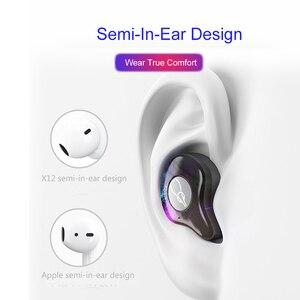 Image 4 - Oreillettes Bluetooth BANDE Bluetooth Bluetooth 5.0 casque de sport IPX5 écouteurs sans fil pour boîtier de chargement de téléphone intelligent