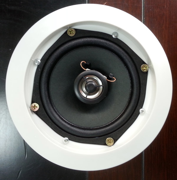 background music system 8ohm inceiling ceiling speaker in wall
