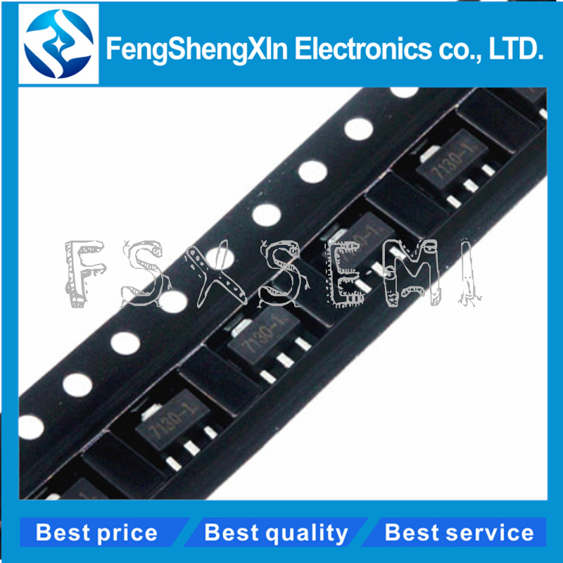 10pcs HT7130-1 7130-1 3V 30mA Low Dropout Voltage Regulator IC LDO SOT-89