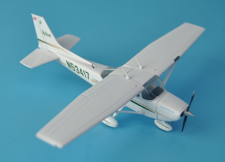rare Gemini Jets 1:72 Cessna 172 N53417 Sporty's Flight School Alloy aircraft model Collection model out of print rare boutique warmaster 1 72 tk0025 soviet union t 72m1 main battle tanks alloy model collection model