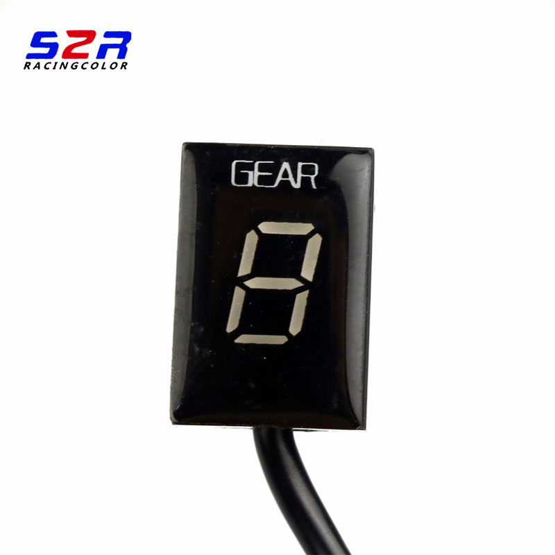 Image 3 - S2R Gear Indicator For Ducati cafe racerMonster 696 796 1100 Scrambler 400 Ecu Plug Mount Speed Gear Display Indicator 1 6 Level-in Instruments from Automobiles & Motorcycles