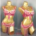 На заказ новый танец живота костюм бюстгальтер + пояс + ОЖЕРЕЛЬЕ 3 шт./компл., любой размер, 34/36/38/40/42 B/C/D/DD