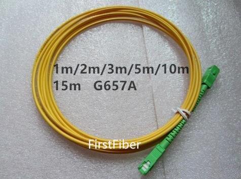 1 Mt Sc Apc Patchkabel 3 Mt 5 Mt 10 Mt Sc Auf Sc Patchkabel Jumper Kabel Sm 2 Mt 15 Mt Simplex Single Mode Optic Für Netzwerk Cs-cs 100% Garantie