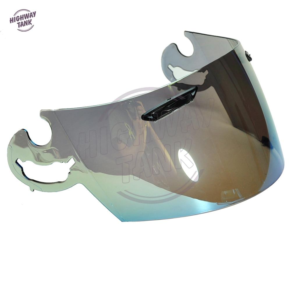 1 PCS Gold Motorcycle Full Face Helmet Visor Lens Case for ARAI RR4 Visor Mask