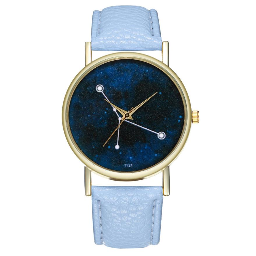2020 Woman Men New Fashion Watches  Lover's Leather Band Analog Quartz Round Wrist Watch Casual Sport Boys Girls Hand Clock A75