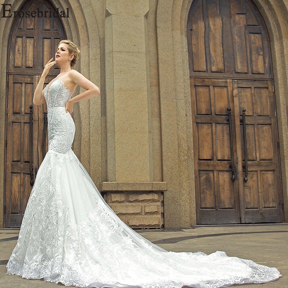 Wedding Gown Wraps: Erosebridal New Arrival 2019 Long Shawl Wedding Dresses