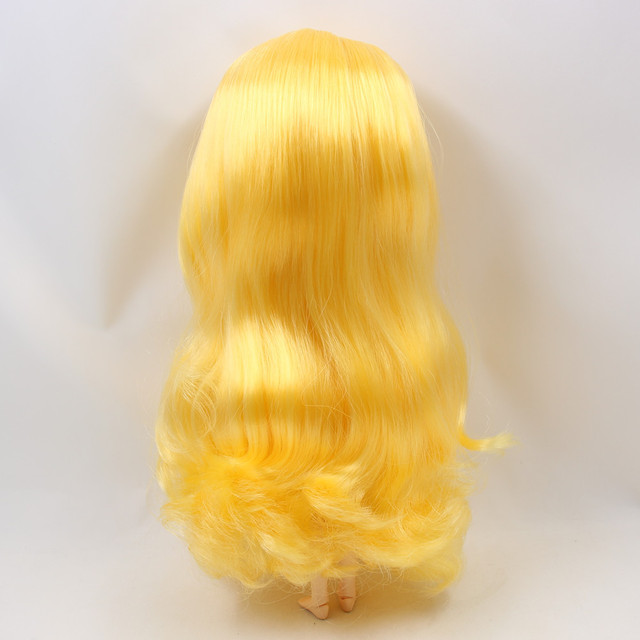 ICY 1/6 nude doll small chest Joint body natural skin yellow hair with bangs/fringe DIY gift 30CM NO.280BL1200