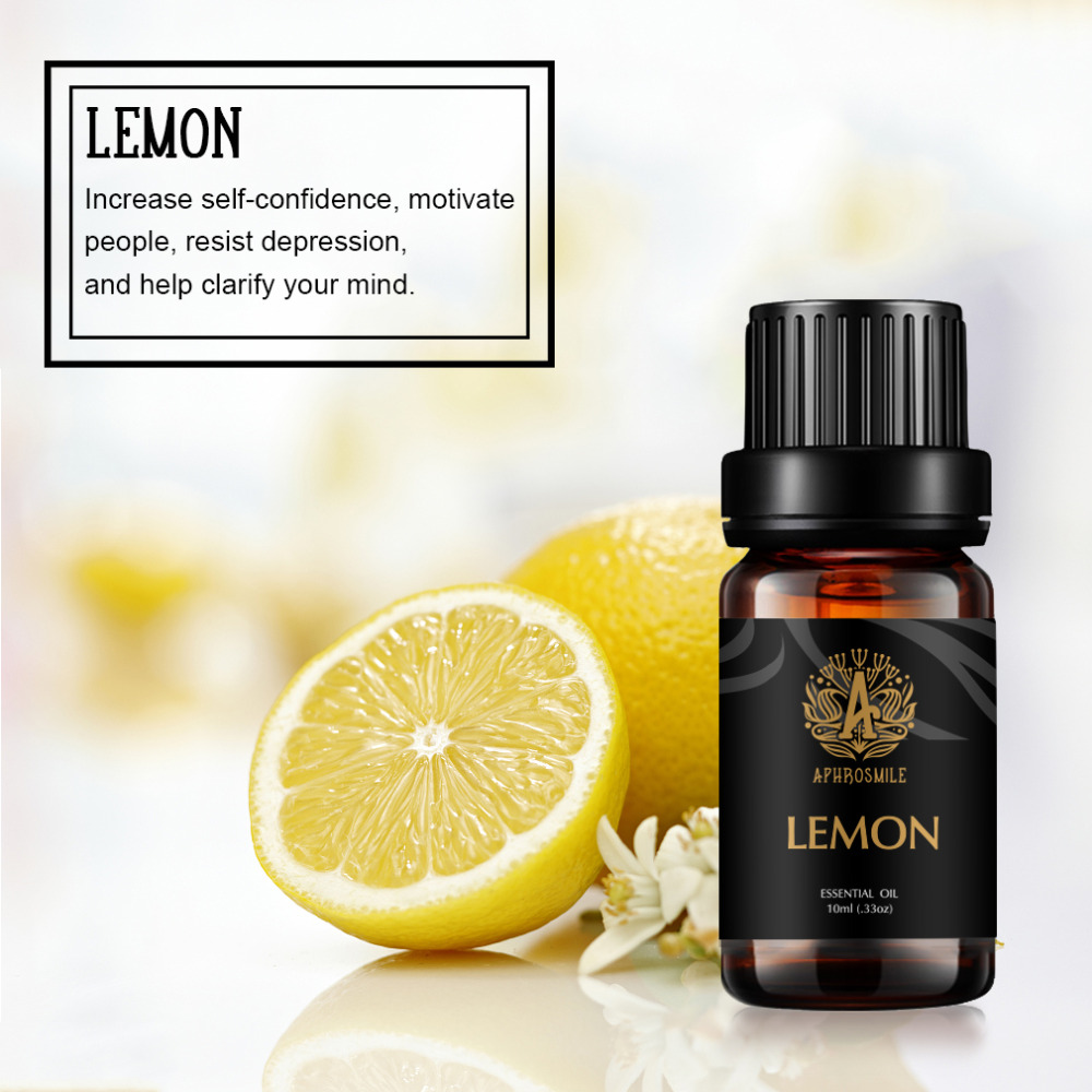 Natural Plant Perfume Oil Chamomile Jasmine Vetiver Essential Oil 10ml Water-soluble Fragrance Oil for Aromatherapy Diffusers