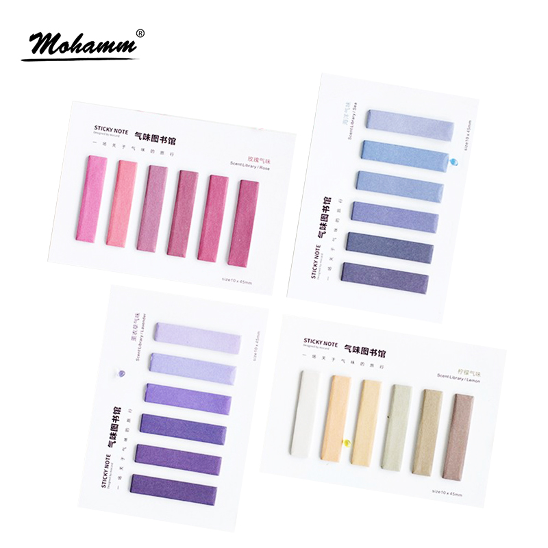 Creative Kawaii Fragrance Colorful Memo Pad Paper Stickers Post It Note For Kids Gift Korean Stationery Office School Supplies 140 page note paper creative fruit design