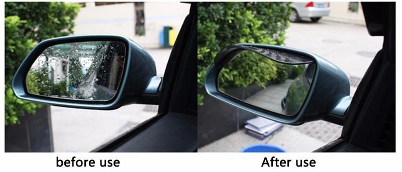 HTB1K4Q1izihSKJjy0Fiq6AuiFXaZ - KOWELL Luxury Universal Car Auto Vehicle Rearview Mirror Rain Shade Rainproof Mirror Eyebrow Cover Guard for Lada for Volkswagen
