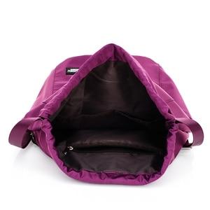 Image 4 - School Backpack for Teenage Girl Mochila Feminina Escolar Women Backpacks Nylon Waterproof Casual Bagpack Female Drawstring