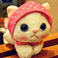 Dễ thương Kawaii Mèo Đồ Chơi Sang Trọng Búp Bê Cho Trẻ Em Mềm Mèo đồ chơi Đáng Yêu Động Vật Ty Stich Thú Nhồi Bông Brinquedos Cô Gái Quà Tặng 50T0321