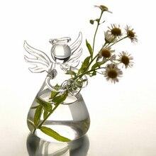 Glass-Vase Terrarium-Bottle Angel-Flower Mini Planter Vase-Plants-Tank Hanging Hot-Sell