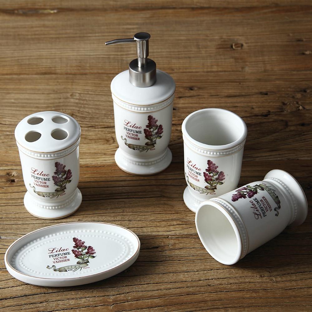Nordic minimalist gargling cup set sanitary ware bathroom suite bathroom suite ceramic wash five pieces of cloves LO88216 nordic simple mouth cup set sanitary ware wash bathroom set bathroom kit ceramic wash crown five piece lo88250