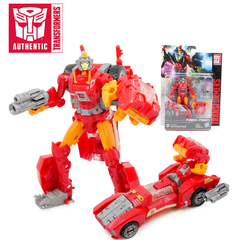 14cm Transformers Toys Generations Movie 6 Power of the Primes Deluxe Classe Autobot Novastar Action Figure