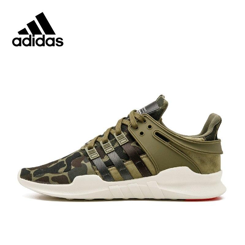 Новое поступление аутентичные Adidas Originals EQT support ADV Для мужчин дышащие Кроссовки спортивные Спортивная обувь