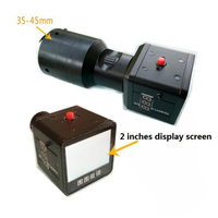 Rifle Scope Add On 2 LCD Screen DIY Infrared Night Vision Scope with Laser Flashlight Day Night Dual Use for monocular