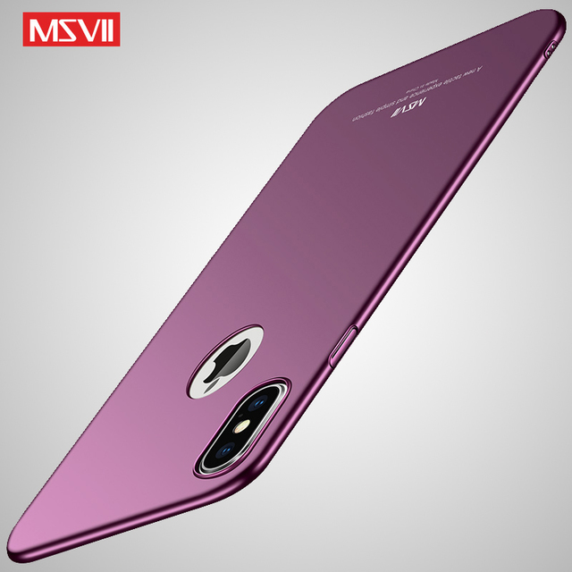 861019a628 MSVII Cover For iPhone XS MAX Case Ultra Thin Matte Coque For Apple iPhone  XR Case