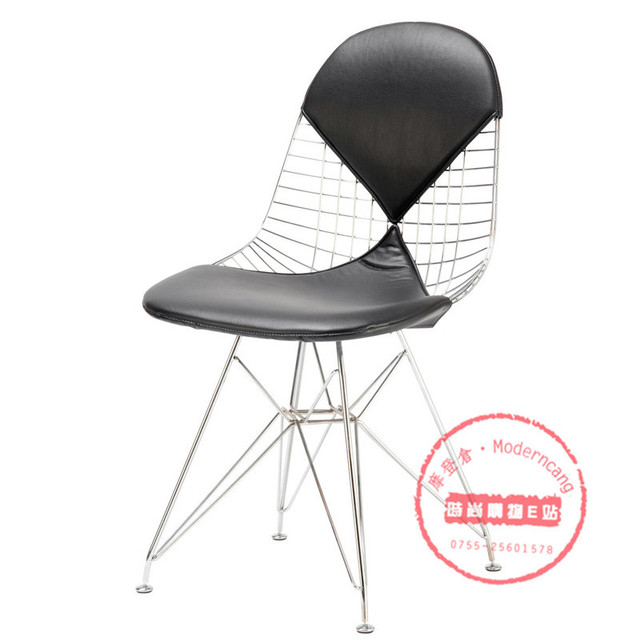 Charles Eames Wire Chair Diamond Chair Casual Restaurant Metal Chair  Computer Chair Office Chair