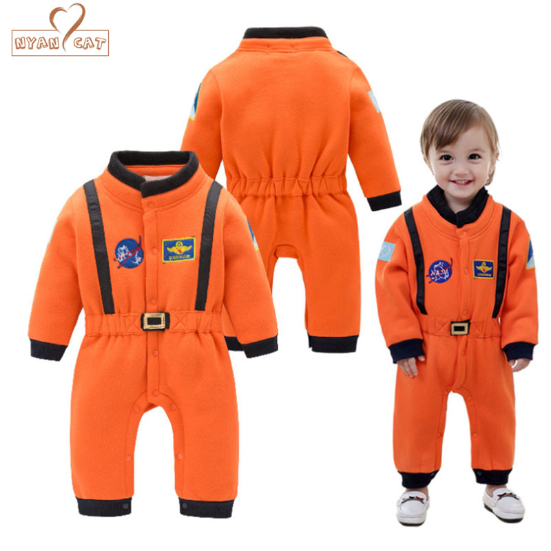 Nyan Cat Baby Boys Astronaut Costumes Infant Halloween Costume for Toddler Boys Kids Space Suit Jumpsuit infantil fantasia защитная пленка highscreen verge матовая