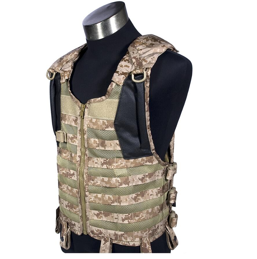FLYYE Delta Tactical Vest Airsoft Tactical Military MOLLE Mesh Combat Assault Plate Carrier Vest CS Outdoor Hunting Vest VT-C013 military tactical field vest cs hunting airsoft molle nylon combat w magazine pouch releasable armor plate carrier strike vests
