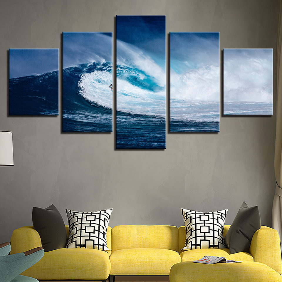 Framed Canvas HD Prints Posters Home Decor Living Room