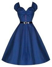 2016 Vintage Blue Liebsten Kappen-hülsen Ballkleid Frauen Kleid Mit Schärpe Fashion Abendgesellschaft Kleid Backless Vestidos 50835