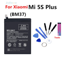 For Xiaomi BM37 Mobile Phone Battery Mi 5s Plus  5Splus 3800mAh Replacement Batteries