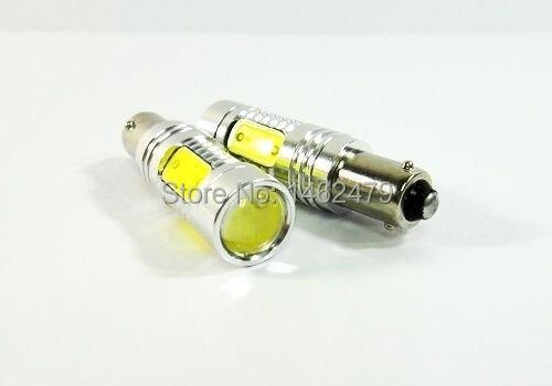 2 X ошибок Canbus габаритных огней drl 64132 H6W светодиод высокой Мощность 7.5 Вт BAX9S лампы для mercedes