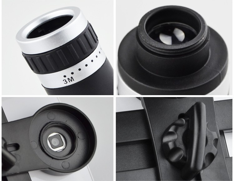 Orbmart 8X Zoom Telescope Telephoto Camera Lens For iPhone 5 5S 6 6S Plus Samsung S6 S5 S4 Galaxy Note 4 Xiaomi HTC Mobile Phone 11