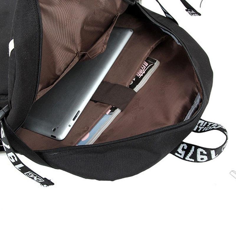 Siawasey Anime NO.6 Cartoon Cosplay Canvas Backpack Messenger Bag Shoulder Bag