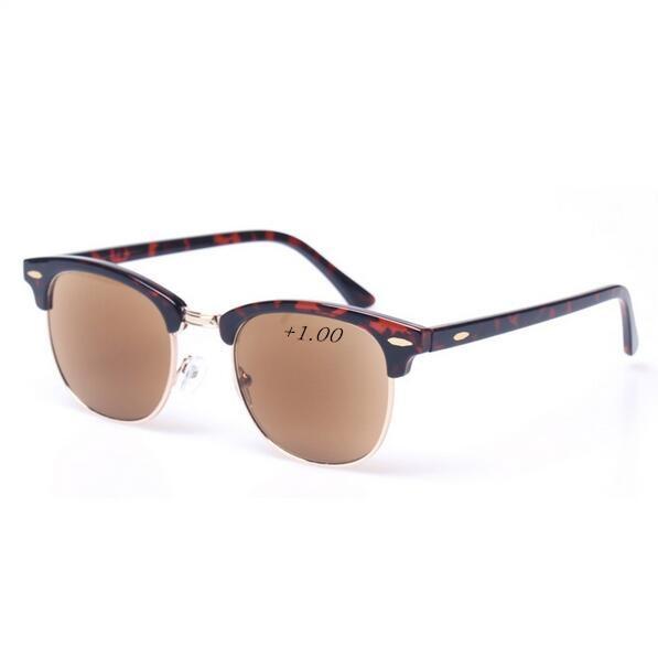 Sun Reading Glasses Ultralight Eyebrows Hyperopia Glasses Anti-fatigue Lense Men Women Reading Eyewear