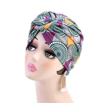 KIGALI Turban motif africain  1