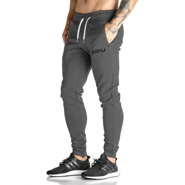 a44d68524d154 Pro hombres casual bodybuilding Pantalones de chándal atleta mens pantalones  largos para los hombres Pantalones de