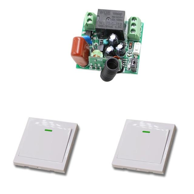 Gut gemocht 315/433 Mhz Drahtlose Fernbedienung Lichtschalter 10A 1CH Relais SC52