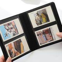 64 Pockets 3 Inch Photo Album PU Leather Starry Sky Films Book Fujifilm Instax Mini 7S 8 9 25S 50 70 90 Stylish Name Card Holder