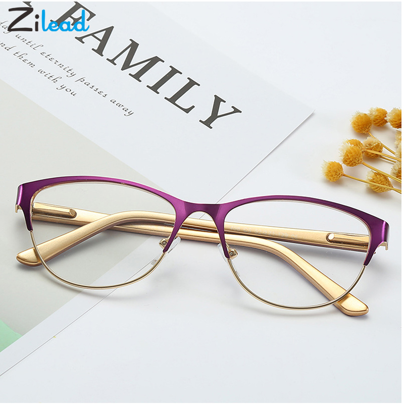 Zilead Reading Glasses Unisex Women Men Optical Computer Glasses Ultralight Mirror Presbyopia Anti-Reflective Reader Oculos