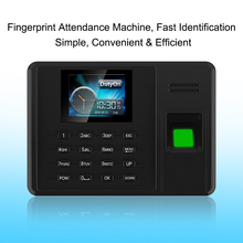 OULET Biometric Attendance System Fingerprint TCPIP USB Time Clock Employee Reader Machine font b Electronic b